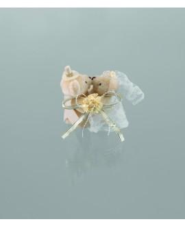 Emmerling bruid en bruidegom teddyberen 13009