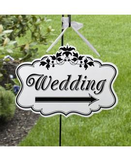 Bewegwijzeringsbord Wedding