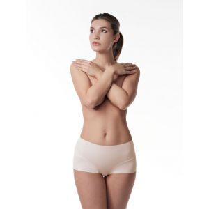 Poirier 18-925 Mid Waist Naadloos Nude broekje