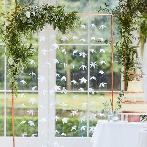 Ginger Ray BR-305 Botanical Wedding Backdrop Origami Bloemen