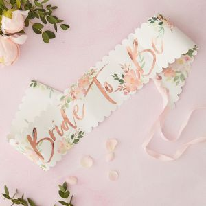 Ginger Ray FH-207 Floral Hen Bride To Be Sjerp