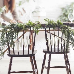 Mr & Mrs Stoelversiering - Beautiful Botanics BB-234 | Ginger Ray