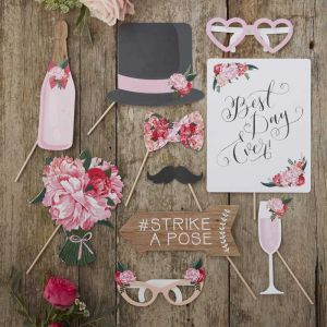Photo Booth Props - Boho (10st)