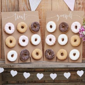 Ginger Ray CW-209 Rustic Country Donut Wall