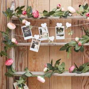 Decoratieve Rose Rozen Slinger - Rustic Country