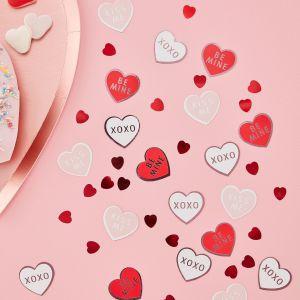 Ginger Ray VA-901 Be My Valentine Confetti Hartjes