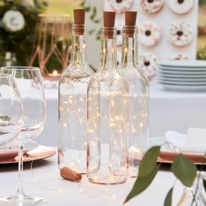 Ginger Ray BR-363 Botanical Wedding Fles Led Verlichting