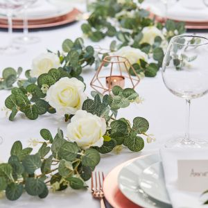 Ginger Ray BR-308 Botanical Wedding Eucalyptus Rozen Slinger